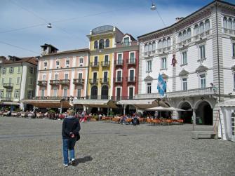 Piazza Grande a Locarno (CH)