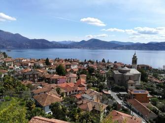 il caratteristico paese di Cannero sul Lago Maggiore