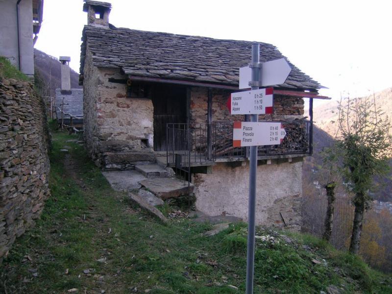 Mergugna in Valle Cannobina