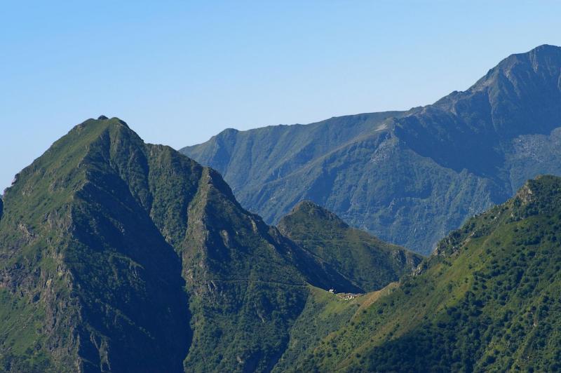 La Colma di Premosello e il bivacco del Parco nazionale Val Grande - foto Giancarlo Martini