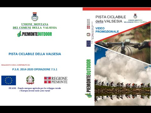 Embedded thumbnail for Video - Pista ciclabile della Valsesia